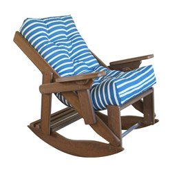 Folding and Reclining Siesta Comfort Rocker - Recycled Plastic/Poly Lumber