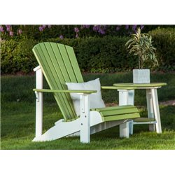 Lifestyle - Lime Green/White (End Table Sold Separate)