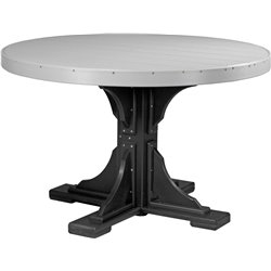 Dove Gray & Black - Dining Height