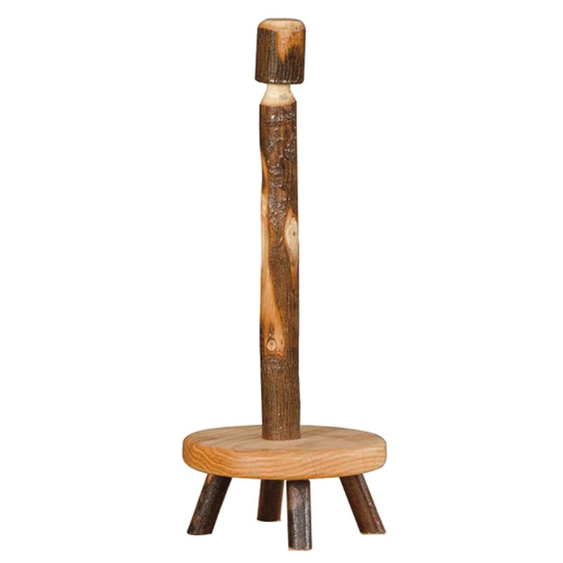 Rustic Hickory Paper Towel Holder