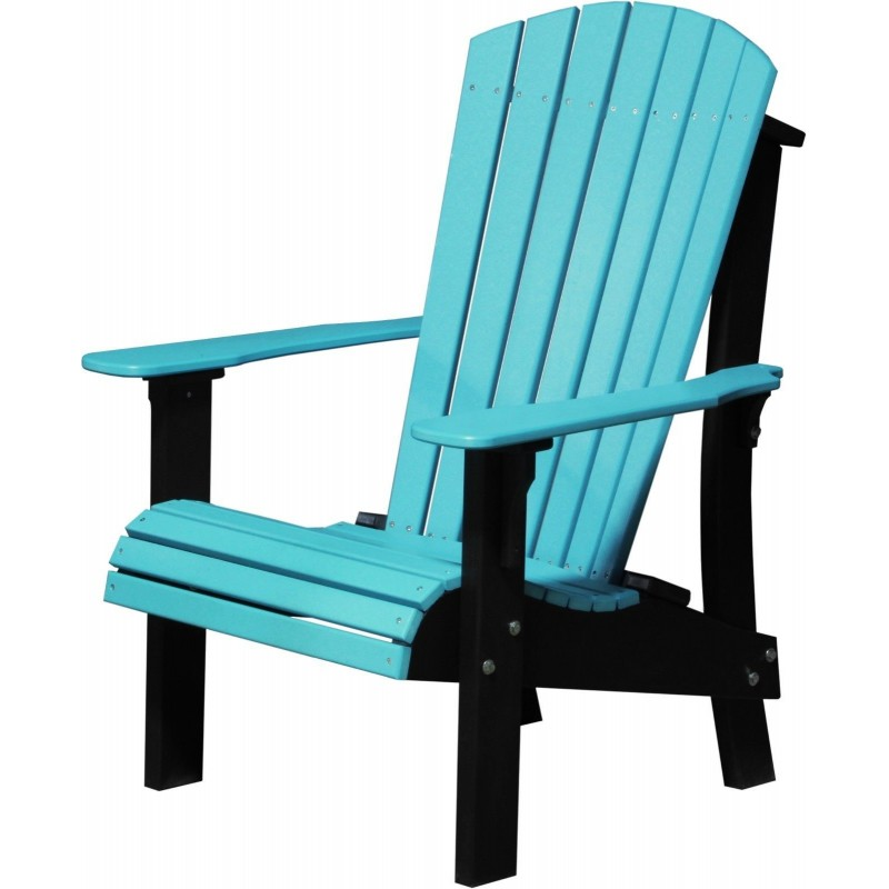 ... Poly Deluxe Comfort Height Adirondack Chair ...