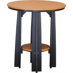 "Poly Outdoor Balcony Table - 36"" High"