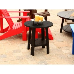 Outdoor Poly Deluxe Furniture Wood Deluxe End Table