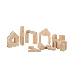 Wooden Building Block - Unfinished