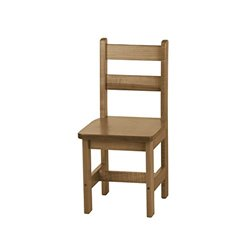 Child's Real Wood Chair - Harvest
