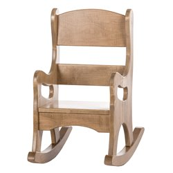 Child's Real Wood Rocking Chair - Harvest
