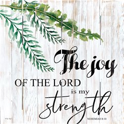 Wood Pallet Art - The Joy of the Lord is my Strength