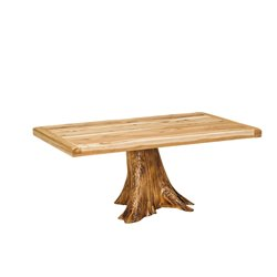 Settler's Solid Top Stump Table - 3 Sizes