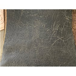 Rustic Hickory Fabric Ottoman - 2 Sizes Available