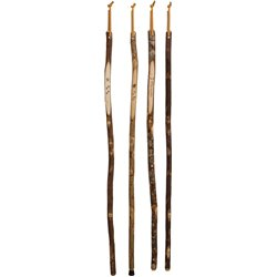 Rustic Hickory Walking Stick