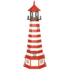 Hybrid Standard and Premium Lighthouses with Base - West Quoddy - Replica