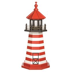 Wood Standard and Premium Lighthouses - West Quoddy - Replica