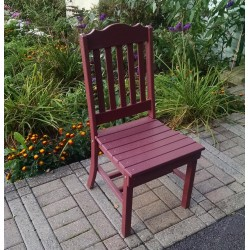 """Poly Lumber Wood Patio Set- 72"""" Rectangle Table and 6 Classic Chairs"""