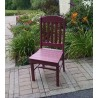 "Poly Lumber Wood Patio Set- 33"" Square Table and 2 Classic Chairs"