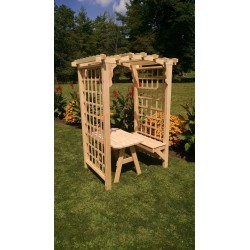 Cambridge Cedar Arbor