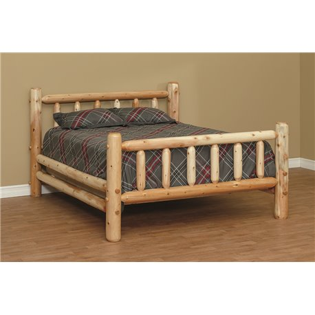 Finished White Cedar Standard Bed- Classic
