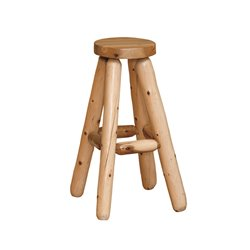 Finished White Cedar Stools- Classic