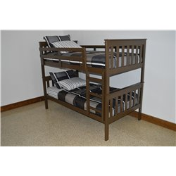 Finished Pine Mission Style Bunk Bed