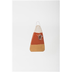Primitive Rustic Wooden Hanging Candy Corn for Fall and Halloween