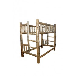Rustic Pine Log Bunk Beds - Available in *3 SIZES*