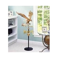 Cast Iron Weathervane Stand (Eagle weathervane sold separately)