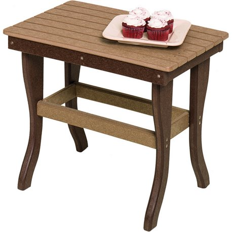 Poly Lumber 1 Tier End Tables - 18 Standard Colors