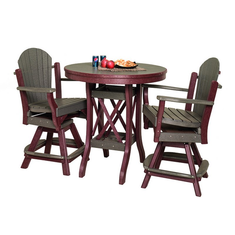 Poly Lumber Patio Furniture - 54 round patio table