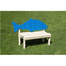 Poly Fish Outdoor Bench