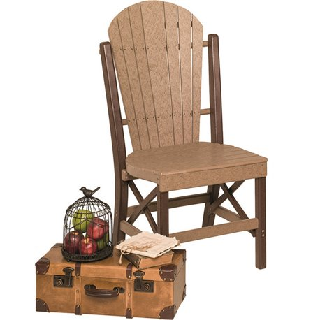 """Poly Lumber Patio Set with 72"""" Oval Table & 6 Chairs - 18 Standard Colors"""