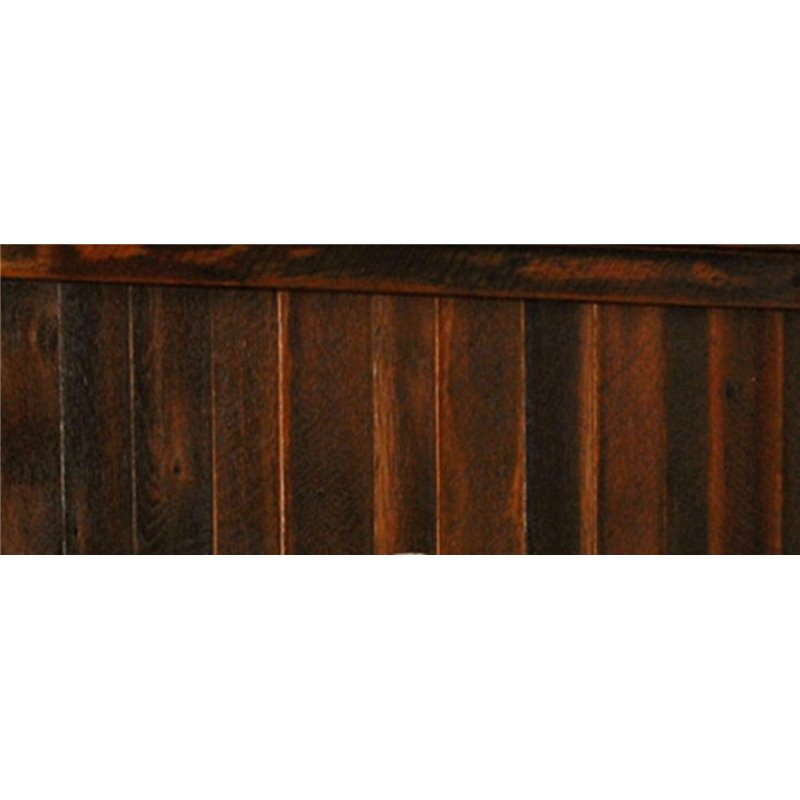 Rustic Reclaimed Barn Wood Dresser With Optional Mirror