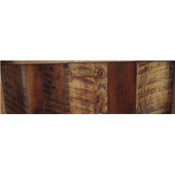 Rustic Natural Reclaimed Barn Wood -Clear Finish