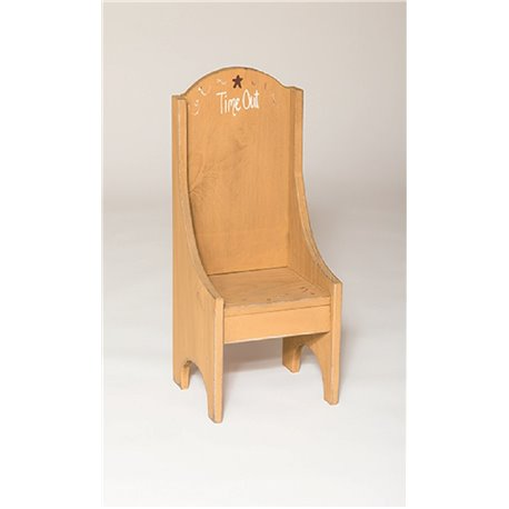 Rustic Primitive Children's Time Out Chair