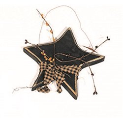 Primitive Rustic Decorative Small Hanging Star with Berries