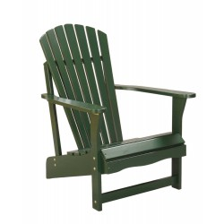 Solid Acacia Adirondack Chair - Hunter Green