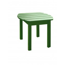 Solid Acacia End / Accent / Side Table - Hunter Green