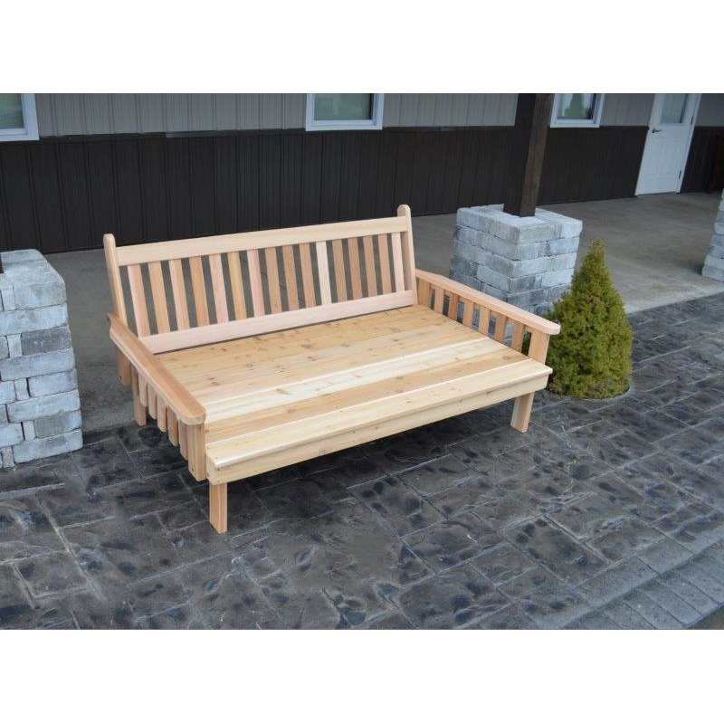 75 Twin Size Cedar Traditional English Daybed