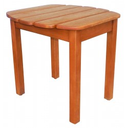 Solid Acacia End / Accent / Side Table - Oiled