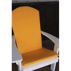 Adirondack Chair Full Cushion - Yellow