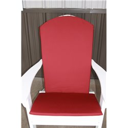 Adirondack Chair Full Cushion - Burgundy