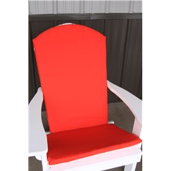 Adirondack Chair Full Cushion - Red