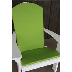 Adirondack Chair Full Cushion - Lime Green