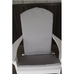 Adirondack Chair Full Cushion - Gray