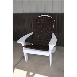 Adirondack Chair Full Cushion - Brown Swirl