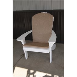 Adirondack Chair Full Cushion - Tan Swirl