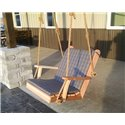 Chair Back & Seat Cushion - For Dining or Swing Chair