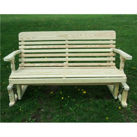 4 Foot Pressure Treated Pine Designs Classic Glider