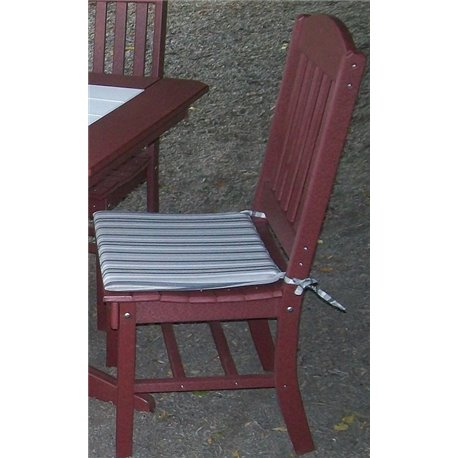 Poly Dining Chair Seat Cushion