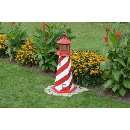 Replica Indoor/Outdoor Lighthouse without Base - 3FT / 4FT / 5FT / 6FT