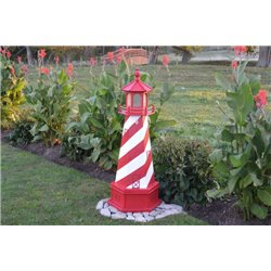 Replica Indoor/Outdoor Lighthouse with Base - 3FT / 4FT / 5FT / 6FT