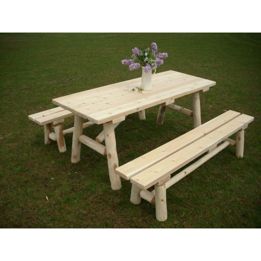 Woodworking Store Vermont 8 Foot Picnic Table For Sale